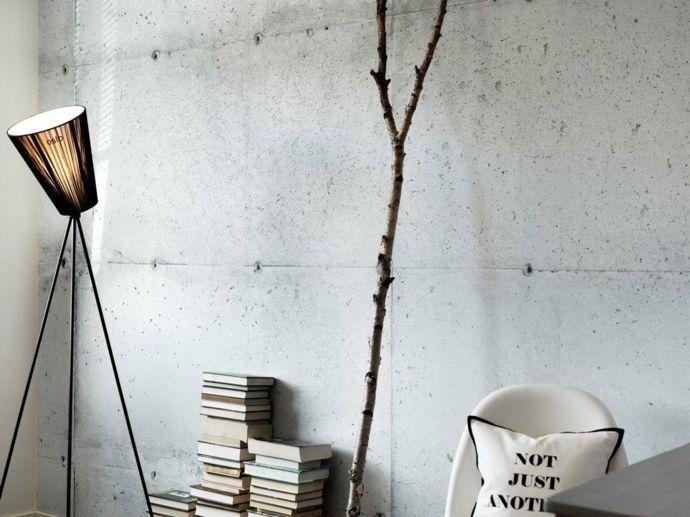 die betonwand ein richtiger hingucker in jedem ambiente. Black Bedroom Furniture Sets. Home Design Ideas