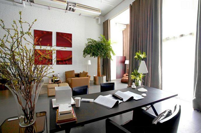 Büro Arbeitstisch-Feng Shui im Arbeitszimmer