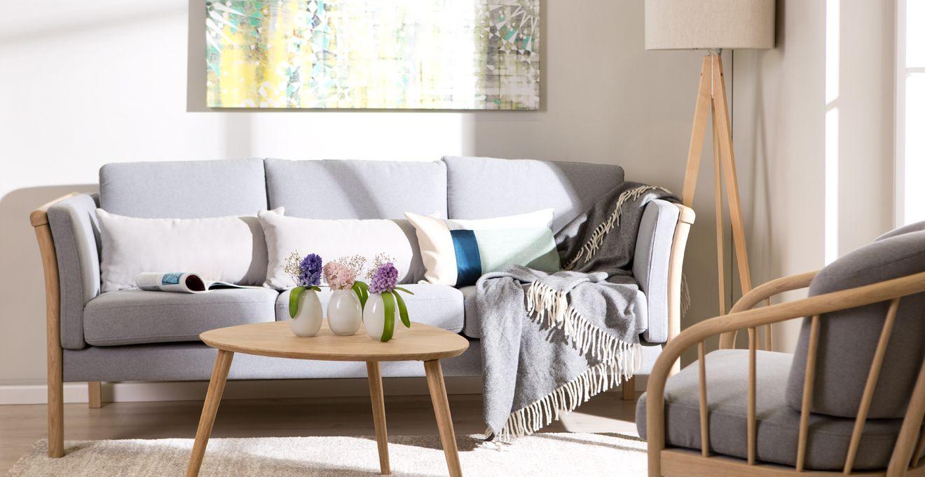 Birkenholz Wohnzimmer Möbel Einrichtung-Holztisch