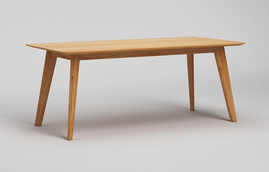 Buchholz Esstisch schlicht-Holztisch