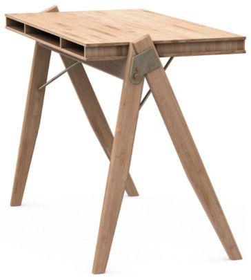 Designer Bürotisch Bambus-Moderne Schreibtische