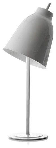 Designer Tischleuchte Hochglanz Stahl-Moderne Lampen