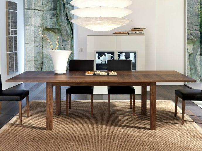 Esstisch aus Ahornholz Luxus Möbel-Esstische