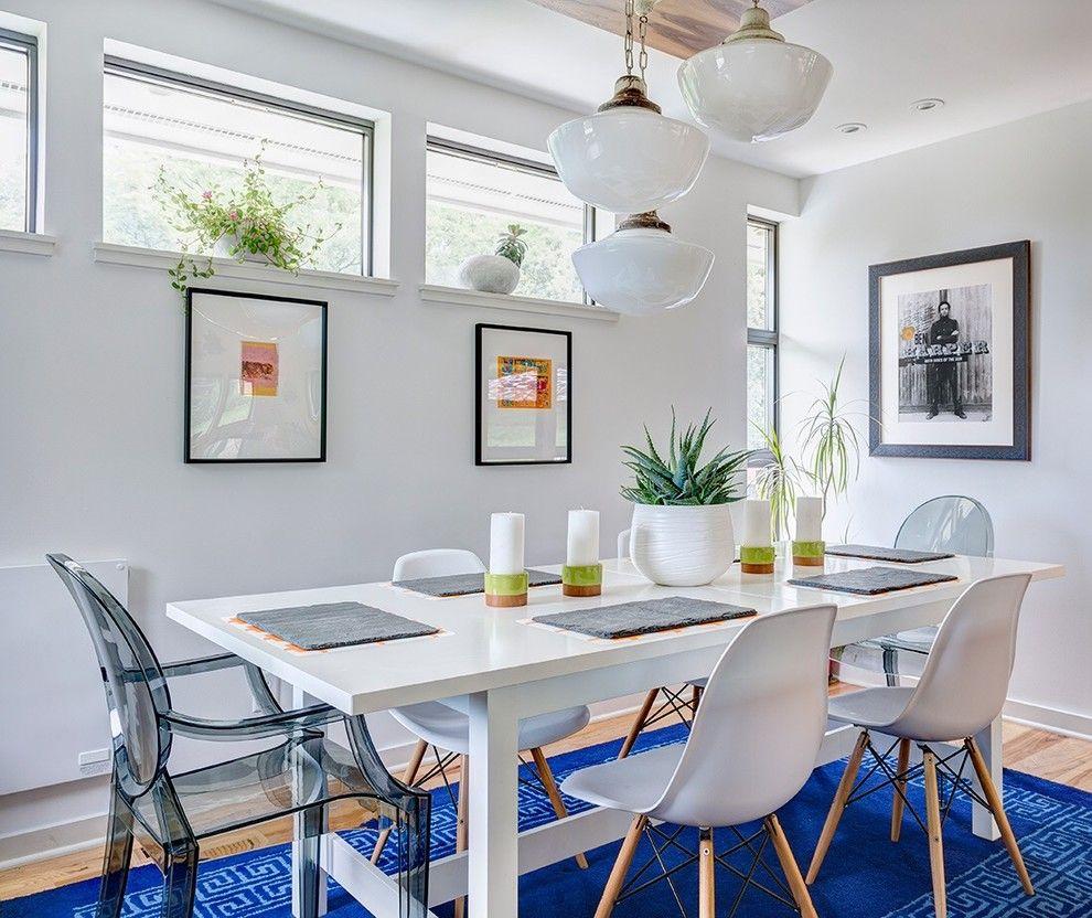 Esszimmersessel Design und blau modern teppich-esszimmer-möbel