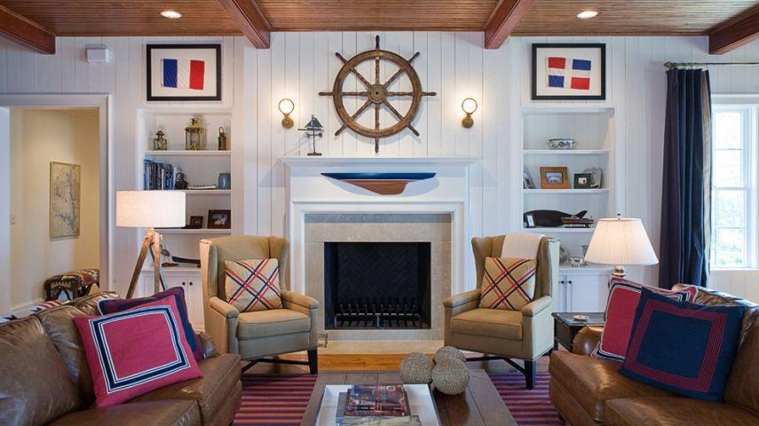 wohnzimmer und kamin wohnzimmer maritim gestalten