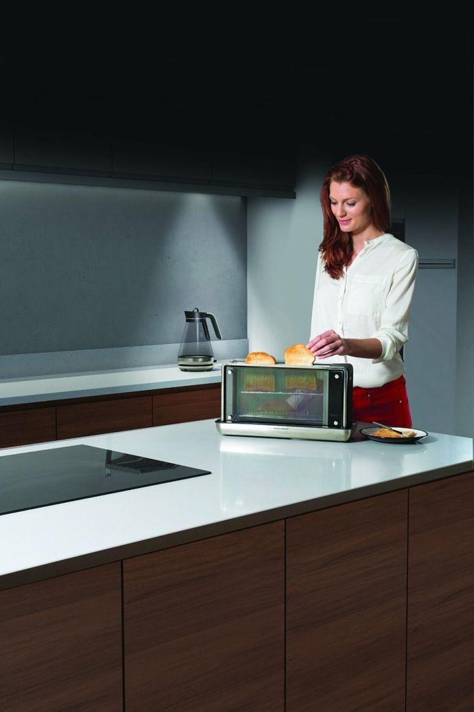 Glas Toaster innovativ-Küchenelektrogeräte