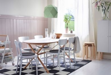 den richtigen bodenbelag f rs esszimmer finden. Black Bedroom Furniture Sets. Home Design Ideas