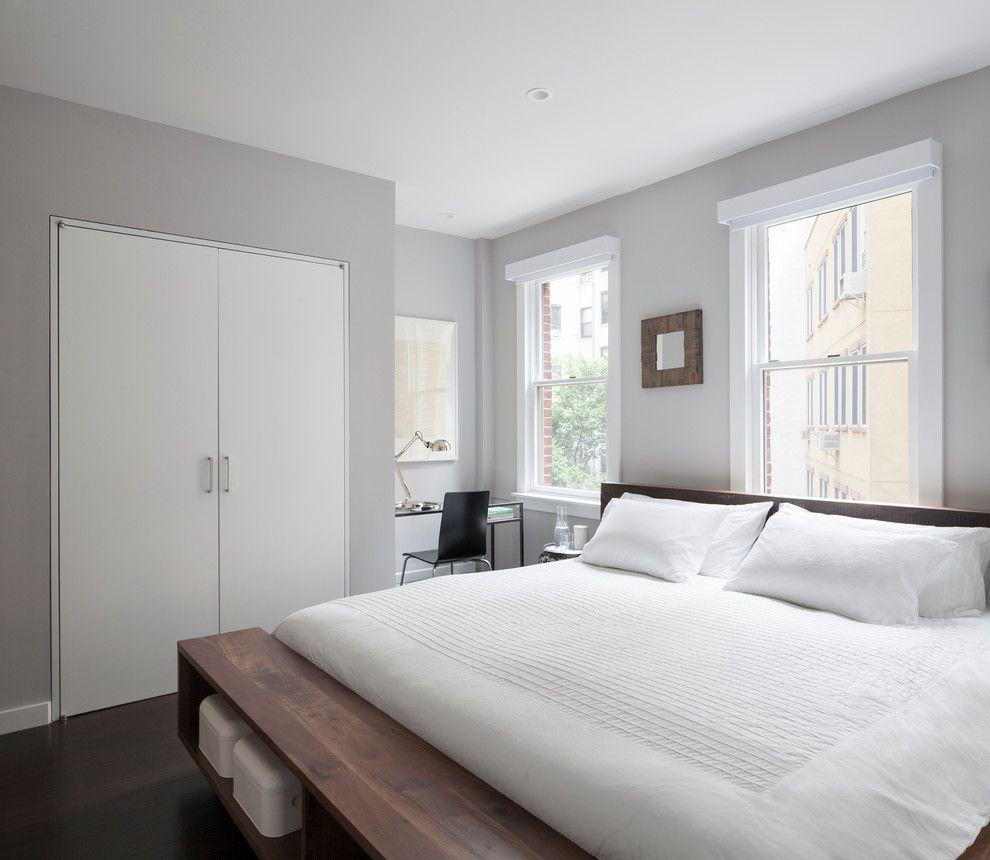 Ideen f r ein modernes schlafzimmer in wei - Schlafzimmer design ideen ...