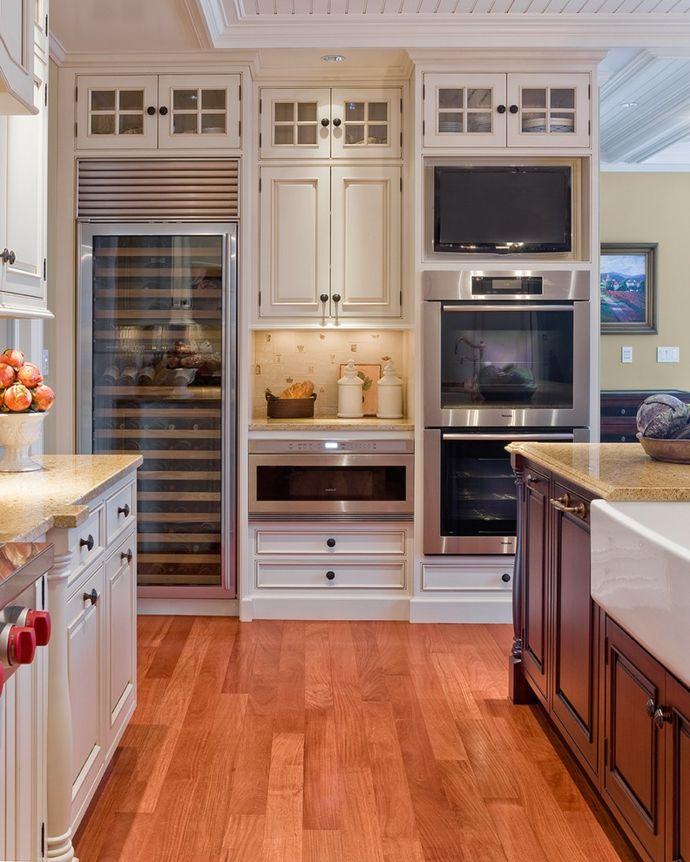 Küche Küchendesign modern praktisch warme Farben