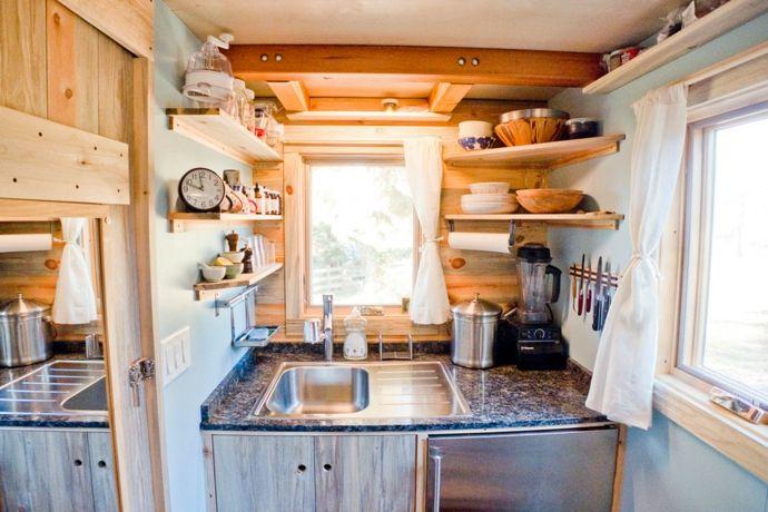 Küche kompakt Aufbewahrung