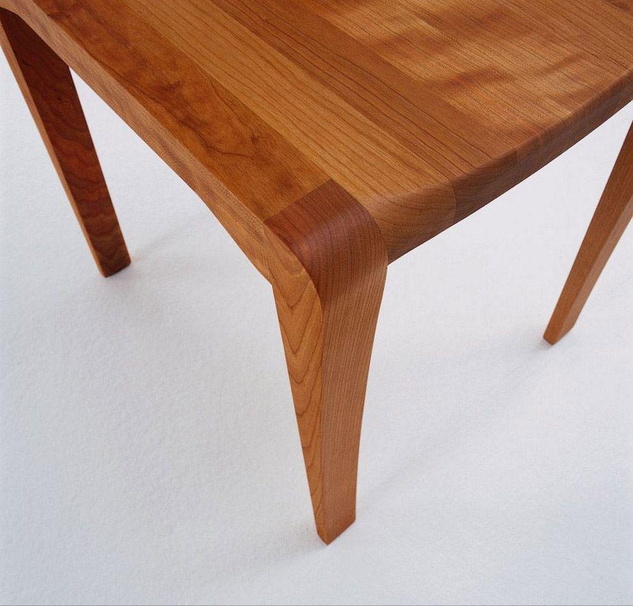 Kirschbaumtisch im Detail-Holztisch