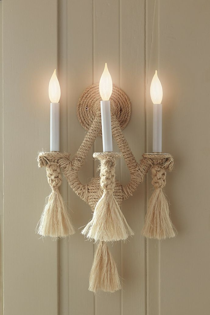 LED Kerzenhalter-Gestaltung im maritimen Einrichtungsstil