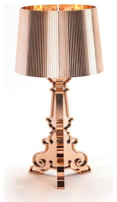Luxus Design Designer Tischleuchte Kupfer-Moderne Lampen