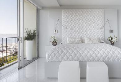 Schlafzimmer ideen weiß grau  Ideen für ein modernes Schlafzimmer in Weiß - Trendomat.com