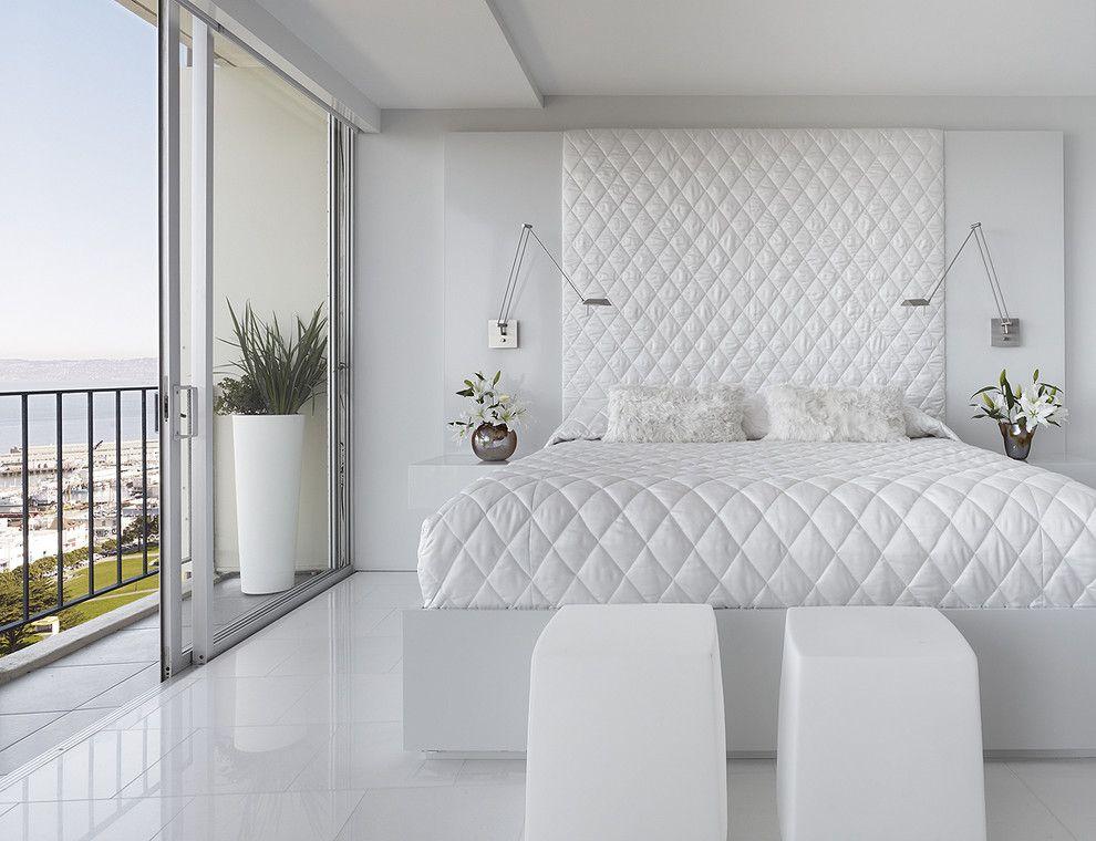 Ideen für ein modernes Schlafzimmer in Weiß - Trendomat.com