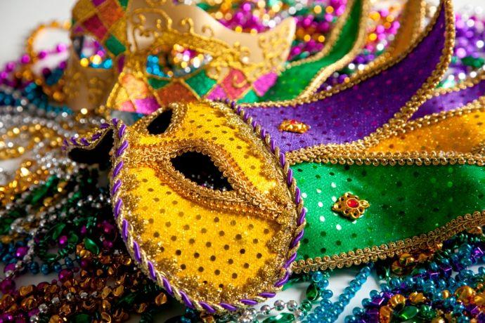 Masken für Fasching-Karneval
