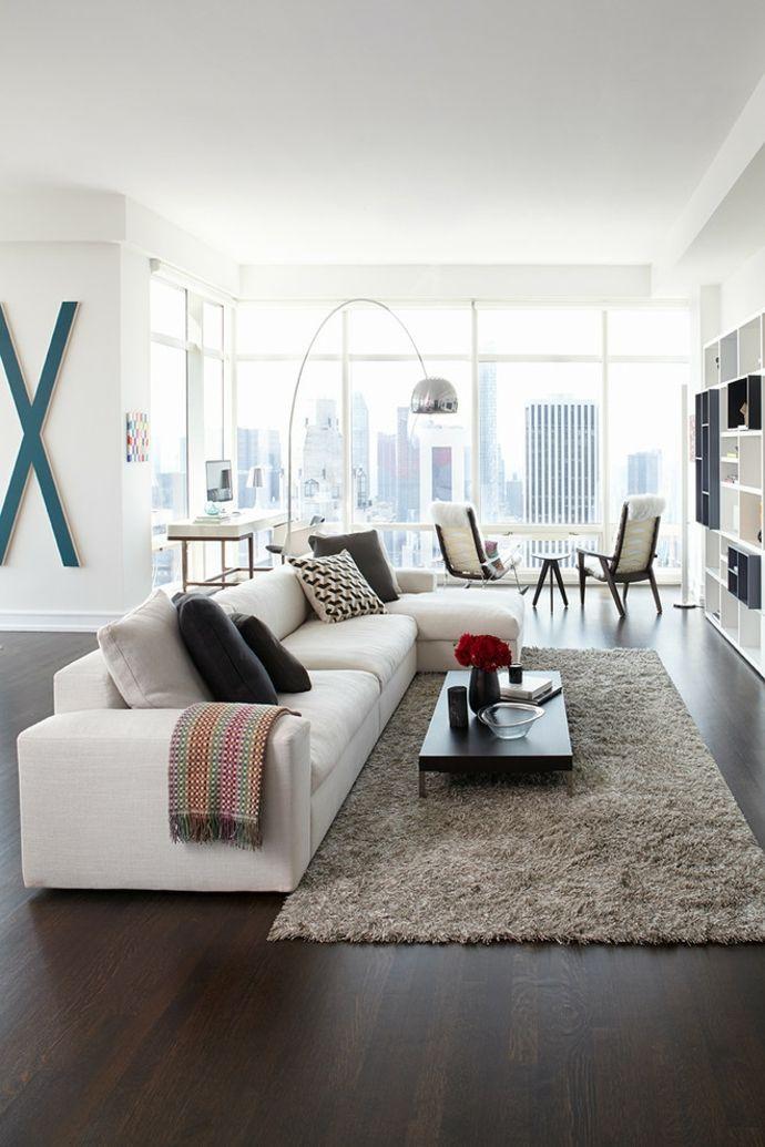 Modern Wohnzimmer Einrichtung Loft Sitzmöbel