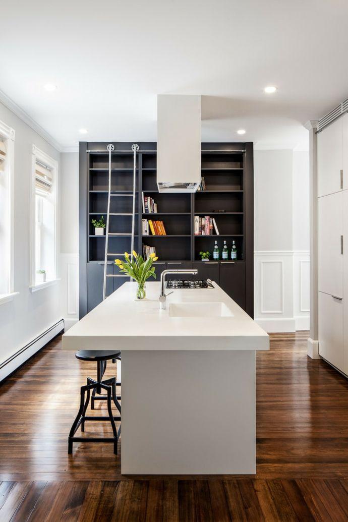 Moderne-Küche-Kochinsel-schöne-moderne-küchen