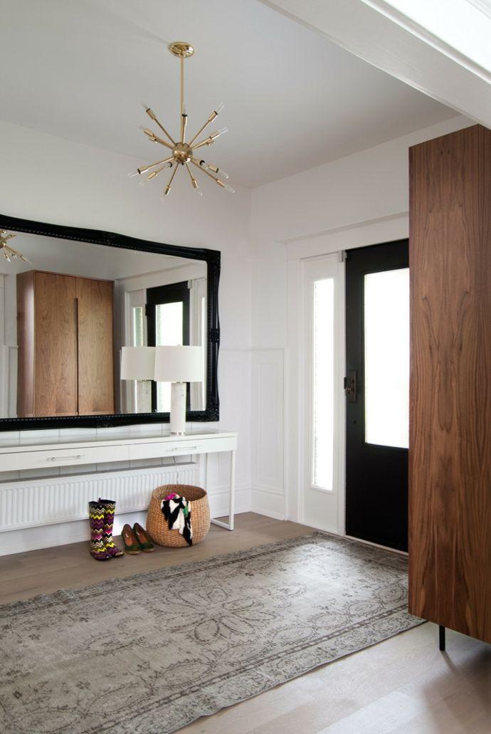 Moderne Klassik Designer Konsolentisch Schrank aus Massivholz-Flur Einrichtung