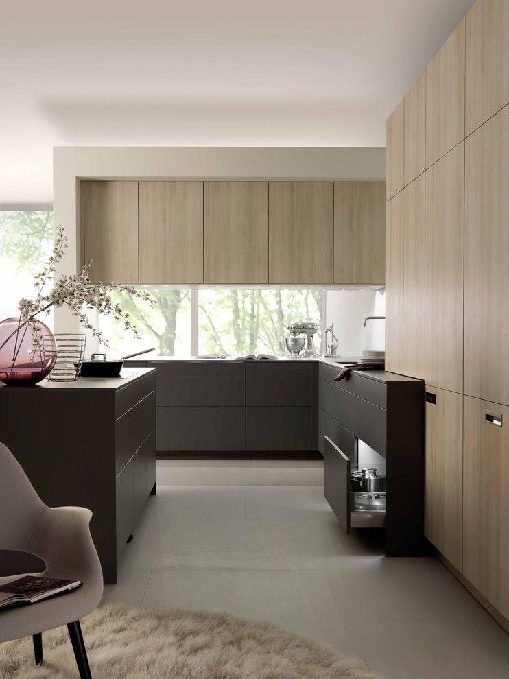 Moderne küche rustikale elemente-schöne moderne küchen (3)
