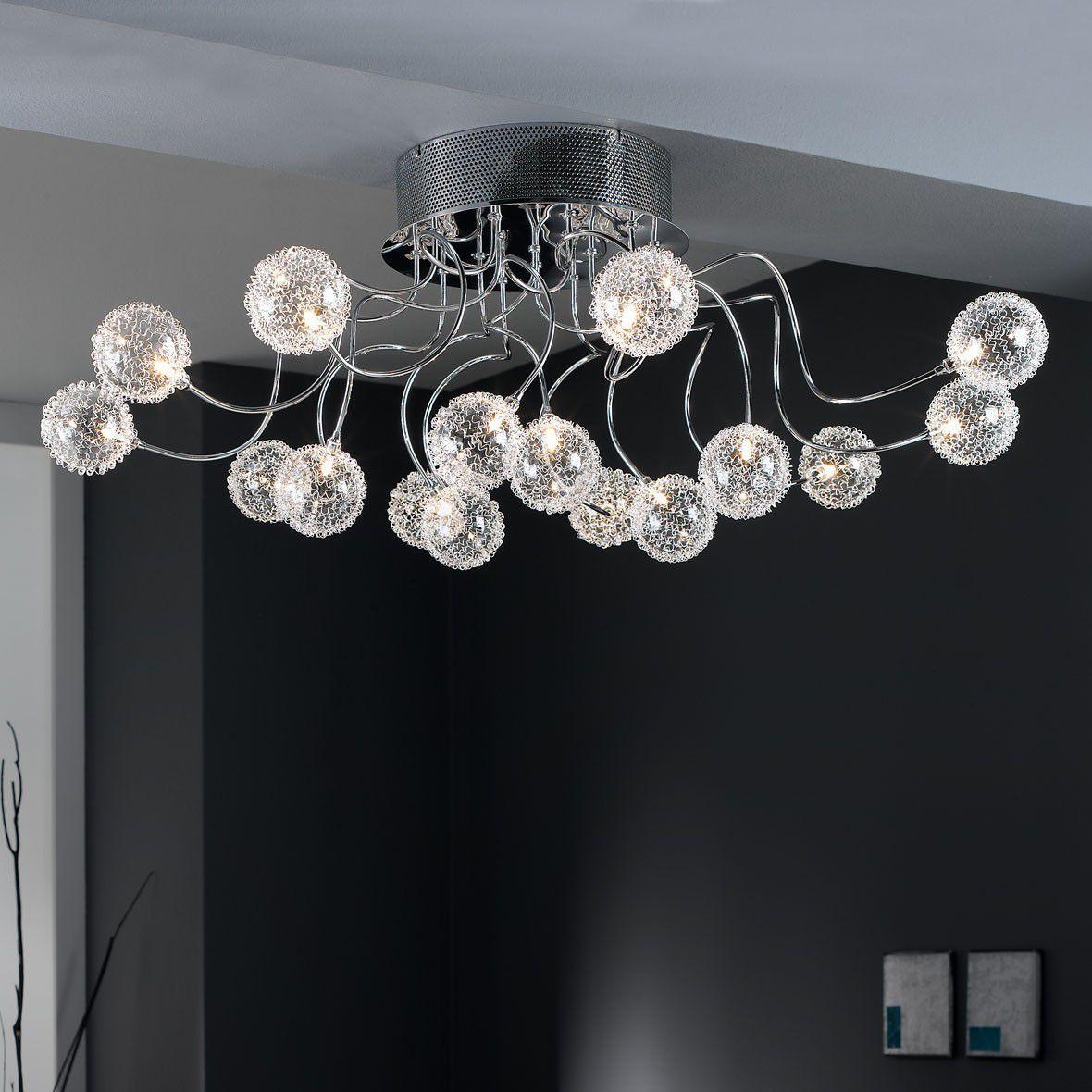 deckenleuchten als unauff llige allgemeinbeleuchtung oder nicht ganz. Black Bedroom Furniture Sets. Home Design Ideas