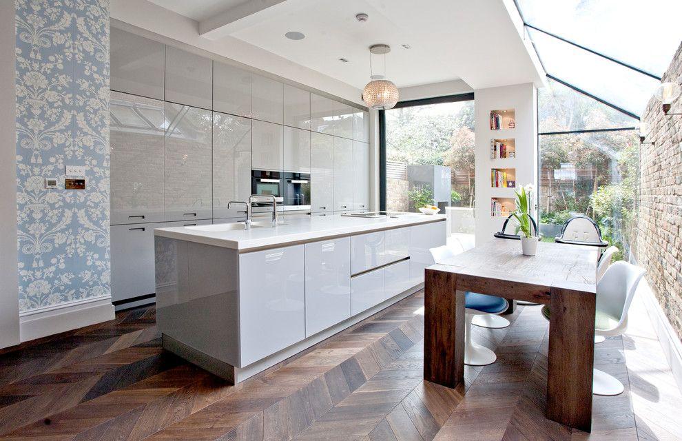 Ideen zur Kücheneinrichtung im modernen Stil - Trendomat.com | {Moderne weiße küche 30}