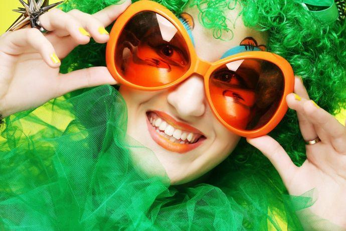 Party Verkleidung für Fasching-Karneval