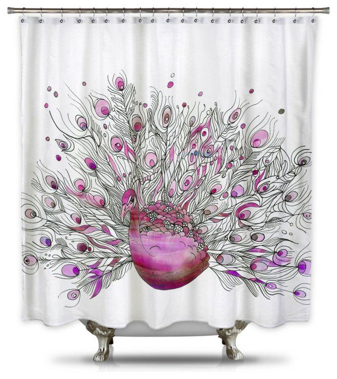 badezimmer makeover mithilfe eines duschvorhangs. Black Bedroom Furniture Sets. Home Design Ideas