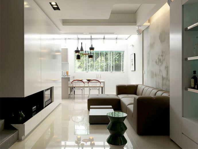 Schrank Kamin Ledersofa Wohnzimmer Tisch Regale Esszimmer Stühle Einbaustrahler modern Weiß-Luxus Designer Möbel