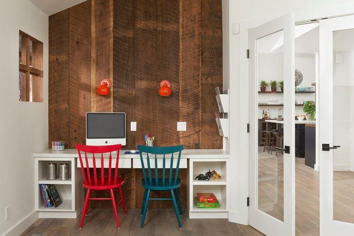 Schreibtisch modern-Kinderzimmer ideen