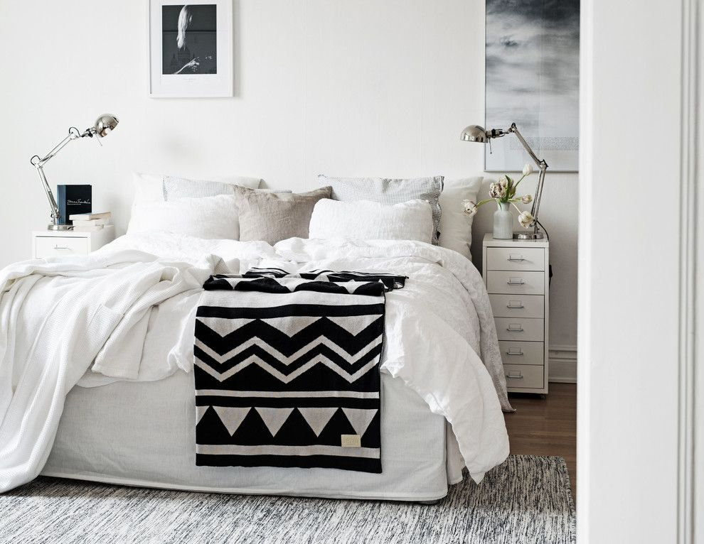 dunkles wohnzimmer hell gestalten:Schlafzimmer ideen skandinavisch ...