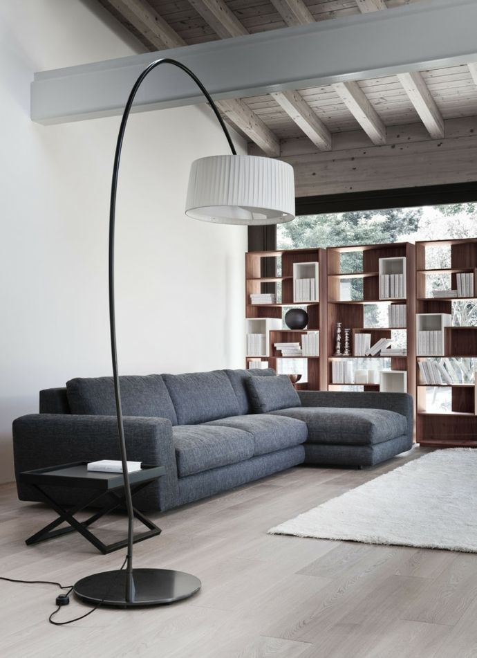 Wohnzimmereinrichtung for Sofa skandinavischer stil