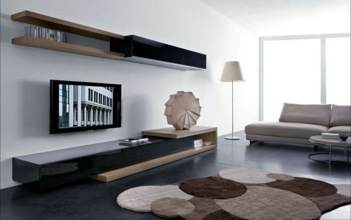 wohnzimmereinrichtung. Black Bedroom Furniture Sets. Home Design Ideas