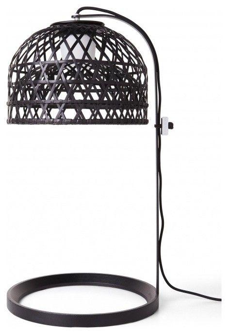 Tischleuchten Bambus modern Design Designer Idee-Moderne Lampen