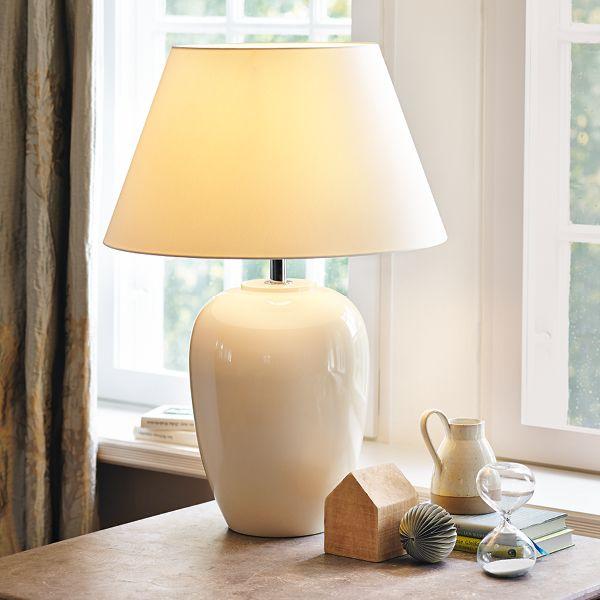 Tischleuchten Design Weiß Hochglanz-Moderne lampen