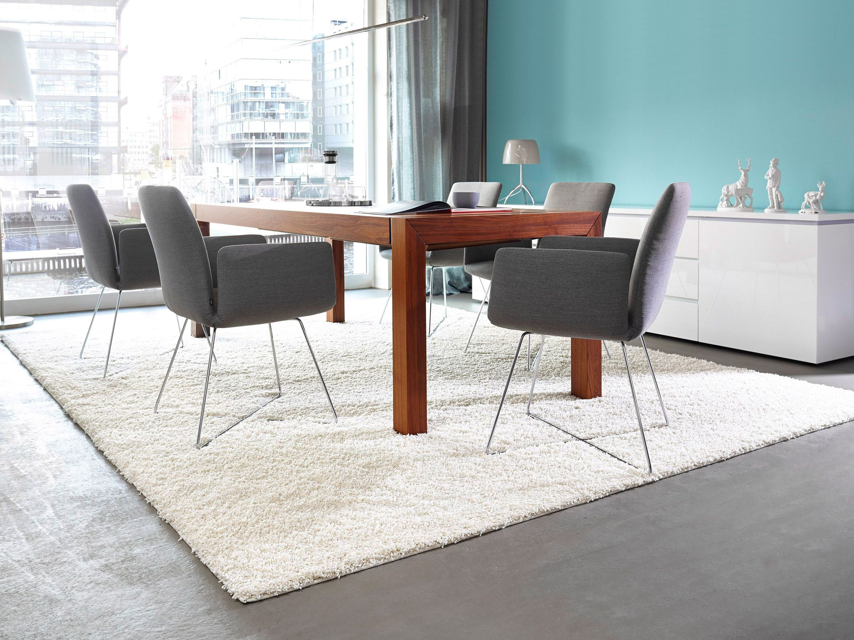 Weiß Teppich Luxus-Teppich esszimmer design