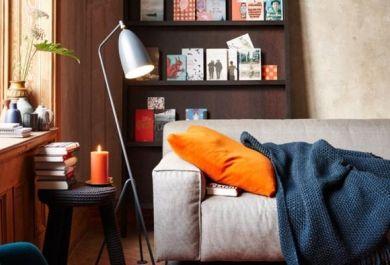 Das A und O der Gemütlichkeit zu Hause -Einrichtungsideen in warmen ...