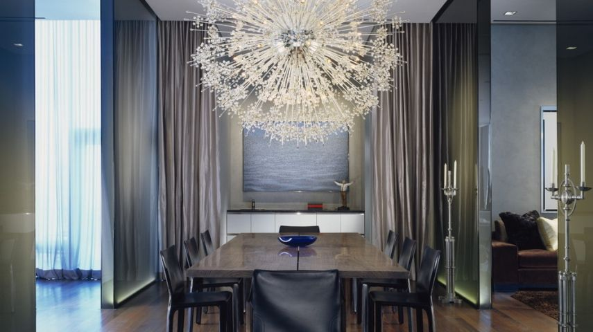 Zeitgen ssische kronleuchter f r ihr wohnzimmer eine for Eingerichtete wohnzimmer modern