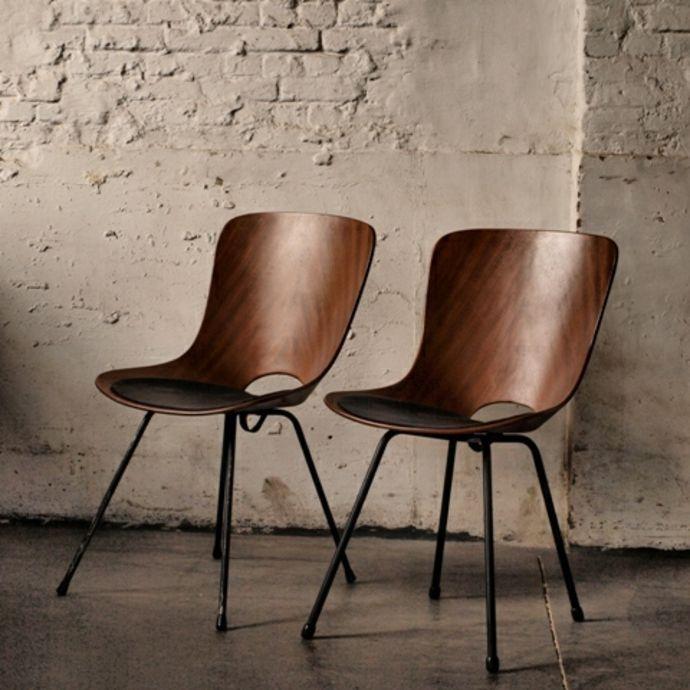 Abendessen Designer Stuhl Vintage