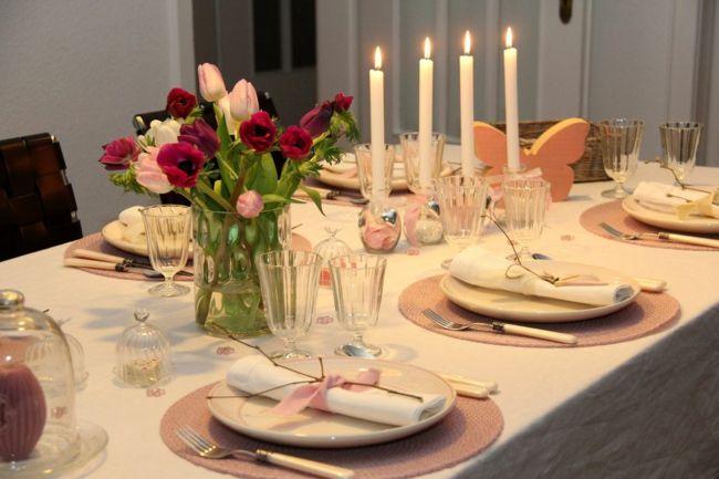Abendessen in angenehmer Atmosphäre-Ideen zum Valentinstag