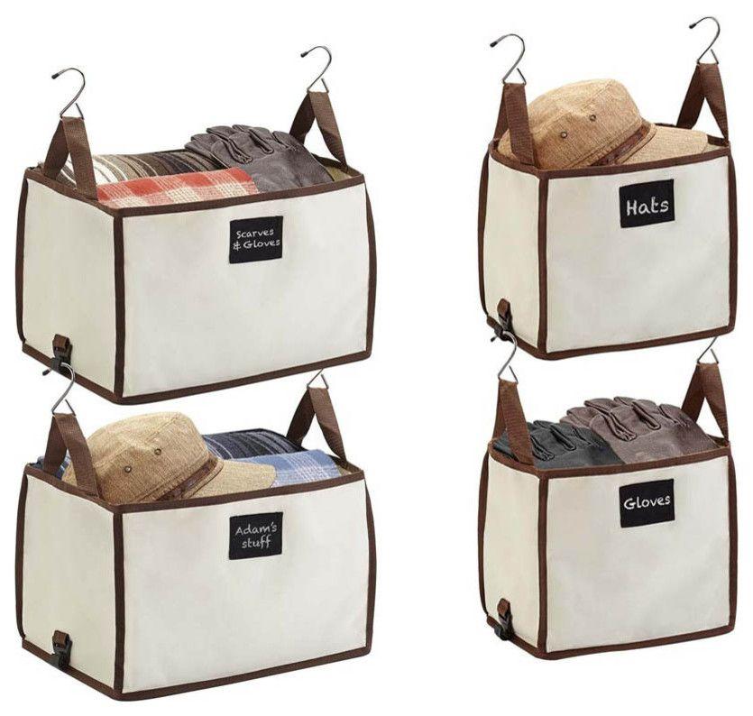 Aufbewahrungsbox mit Aufschrift für Accessoires-praktisch Aufbewahrung Accessoires zum Aufhängen