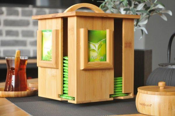 Bambus Tee-Häuschen-Bambus Dekoration