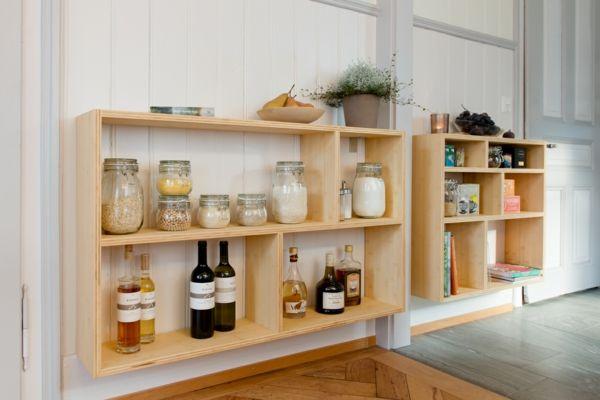 Bambusregal für die stilvolle Küche-Bambus Dekoration