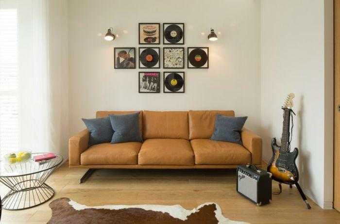 Bei lauten Nachbarn sollten Sie sich eine Lärmisolierung überlegen-Lärmschutz Schallschutz Wohnzimmer Haus