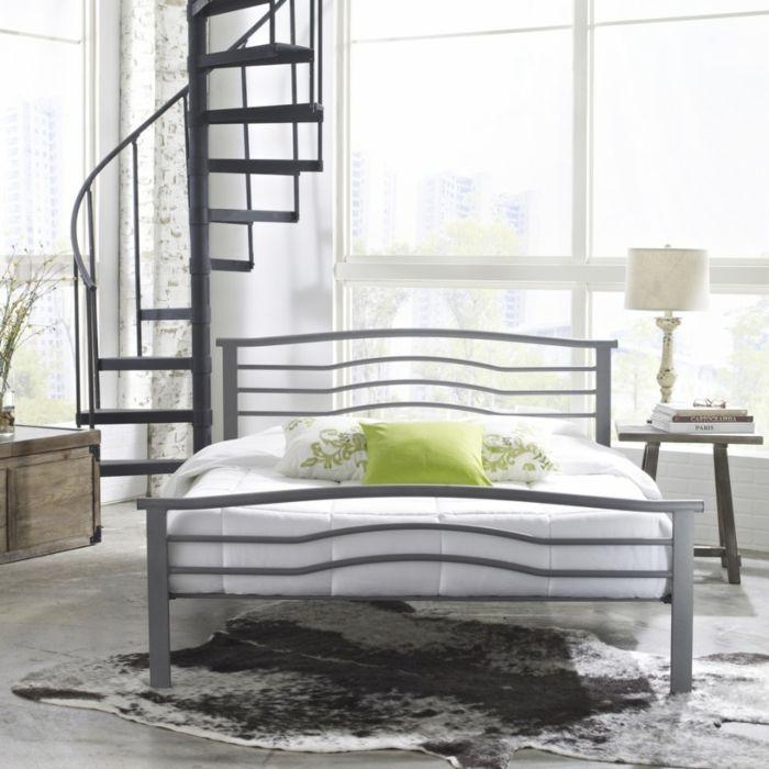 Bett Metallelemente-Schlafzimmer Luxusbetten