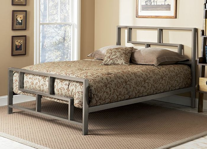 Bett mit Eisenrahmen-Schlafzimmer Luxusbetten