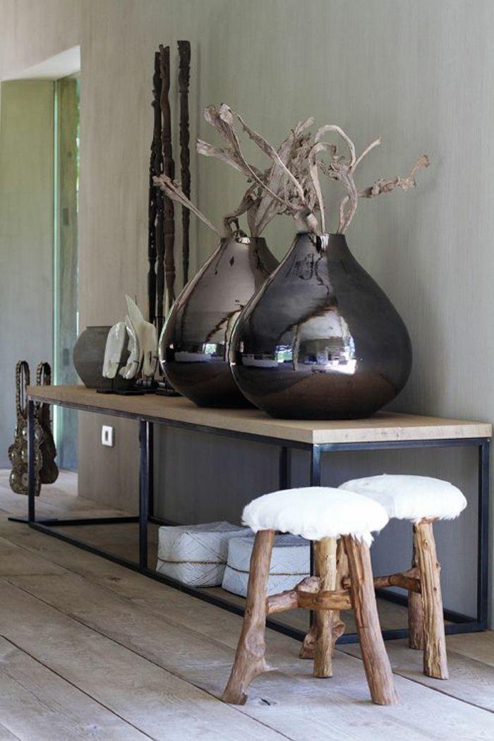 Bodenvasen in Braun-Dekorative Bodenvasen im zeitgenössischem Design