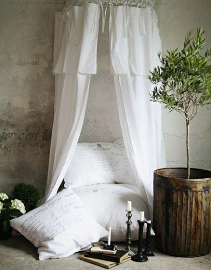 DIY Bett im modernen Interieur-zeitgenössische Deko Ideen für Ihr Zuhause