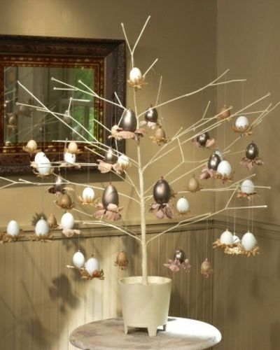 Darstellung Eier mit Swarovski Elemente-Dekoartikel Ostern