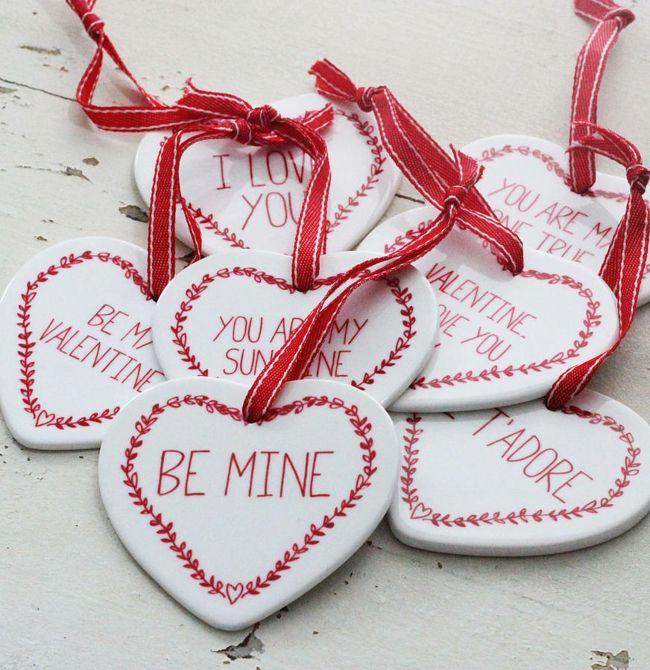 Deko Aufhänger In Herzenform Valentinstag Geschenk Ideen